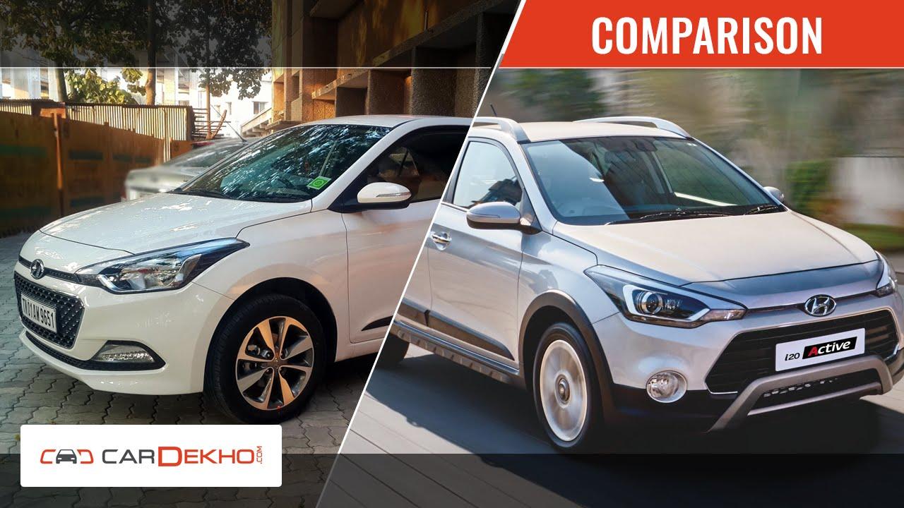 Hyundai i20 Active Vs Elite i20 | Comparison Story | CarDekho.com