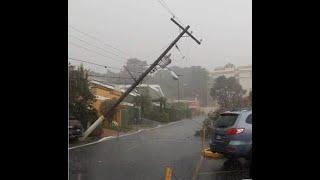 Las lluvias provocaron caos en varios puntos del Departamento de Guatemala