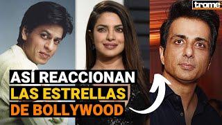 COVID INDIA: Mientras algunos famosos de Bollywood huyen en jets privados y otros prefieren ayudar