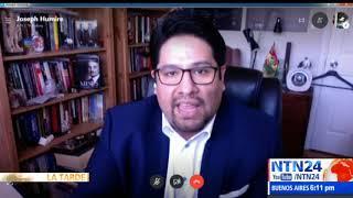 Joseph Humire en La Tarde de NTN24