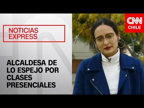 Alcaldesa de Lo Espejo cuestiona el plan del Mineduc para el regreso a clases presenciales