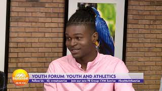 Are Jamaica's students at an advantage when it comes to athletics  | Sunrise: Youth Forum | CVMTV