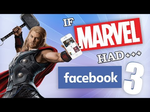 connectYoutube - IF MARVEL HAD FACEBOOK 3