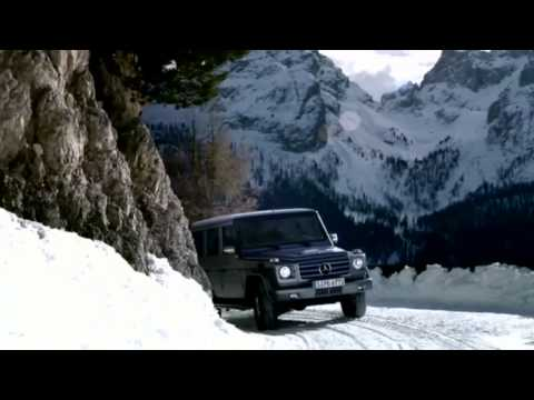 G-Class - Road Test in Snow