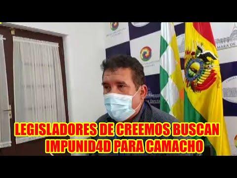 DIPUTADO JHONNY PARDO LEGISLADORES DE CAMACHO VIAJARÁN EE.UU. PARA BUSC4R PLATA PARA GOLP3 DE EST4DO