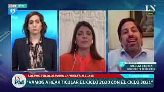 Cuarentena: Nicolás Trotta explica cómo sigue la educación