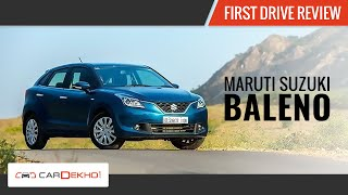 Maruti Baleno | First Drive | Cardekho.com