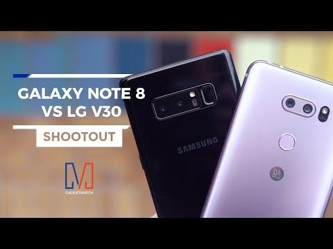 Samsung Galaxy Note 8 vs LG V30: Camera Shootout