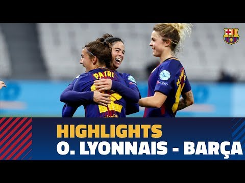 [HIGHLIGHTS] FUTBOL FEM (Champions League): O. Lyonnais – FC Barcelona (2-1)