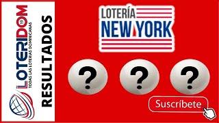 Resultados de la Loteria New York Tarde de hoy 15 de Mayo del 2021