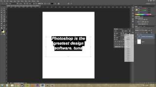 Photoshop CS6 Tutorial - 181 - Paragraph Panel