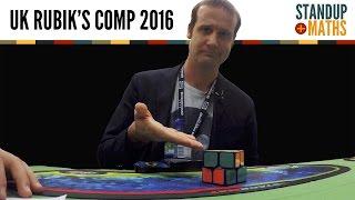 UK Rubik's Cube Championship 2016 PART I