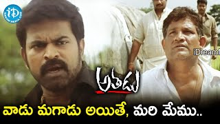 Brahmaji Reveals His Plans to Tanikella Bharani | Athadu Movie Scenes | Mahesh Babu | Trivikram - IDREAMMOVIES