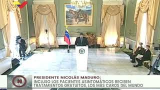 Presidente Maduro denuncia ataque a la refinería de Amuay