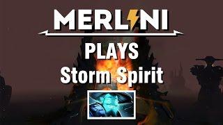 [Merlini's Catalog] Storm Spirit on 17.11.2014 - Game 1/5