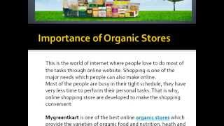 Organic Store Health Food  Natural Products  Hair Care Products