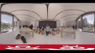 First 360 look inside the Union Square flagship Apple store
