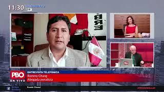 Fiscal de la Nación en aprietos por decisión de Omar Tello | CHEMA SALCEDO entrevista a ROMY CHANG
