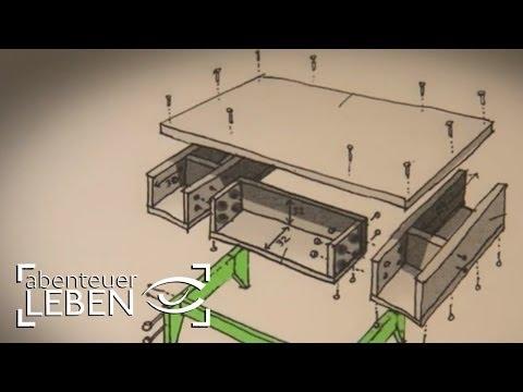 selbst gemachte werkbank f r holzarbeiten deutsch german. Black Bedroom Furniture Sets. Home Design Ideas