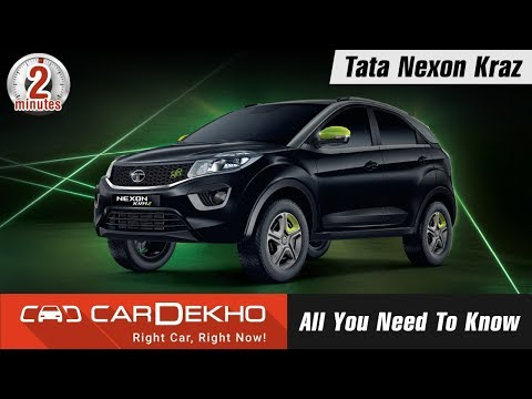 2018 Tata Nexon Kraz Limited Edition | Petrol & Diesel Price, Features, What's Different? | #In2Mins