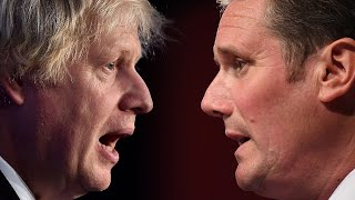 Coming up: Boris Johnson faces Keir Starmer at PMQs as Labour leader accuses PM of 'winging it'