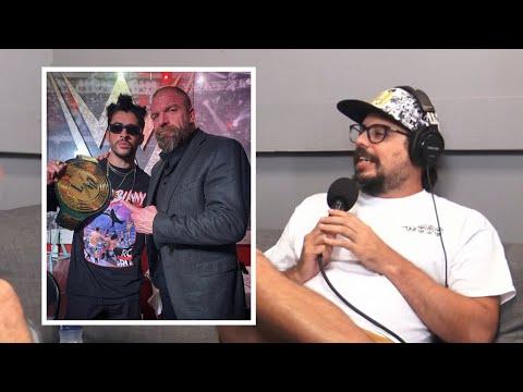 Triple H esta orgulloso de Bad Bunny