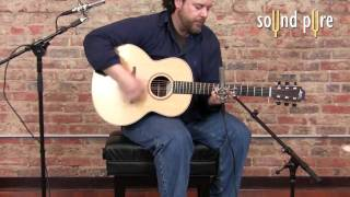 Lowden F32 Acoustic Guitar Demo Royer R121 Ribbons, AEA RPQ