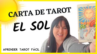 EL SOL - Carta de año nuevo - Aprender Tarot Fácil -