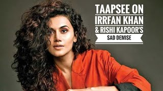Why Taapsee didn't like Kabir Singh? | Controversial 'SLAP' comment by director |Thappad | Irrfan - HUNGAMA