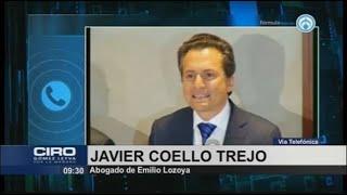 Emilio Lozoya sí fue detenido en España con fines de extradición: Gertz Manero