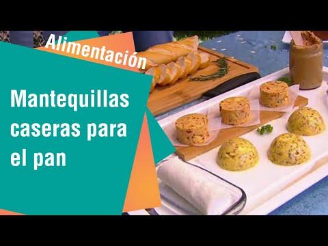 Mantequillas caseras para el pan | Alimentación Sana