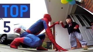 Top 5 Real Life Superheroes 2016    JukinVideo Top Five