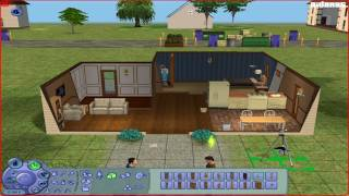 Давайте Играть в The Sims 2 - Часть 2 - Заселение