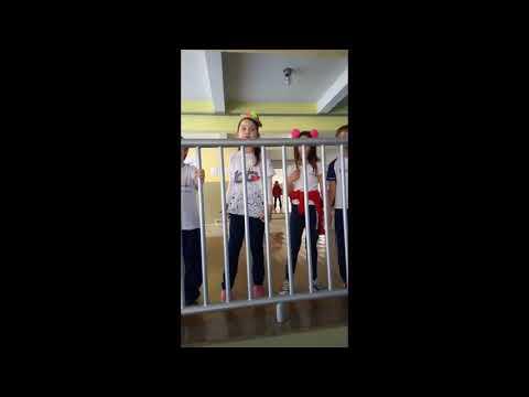 Educandos do 3º ano A apresentam canção