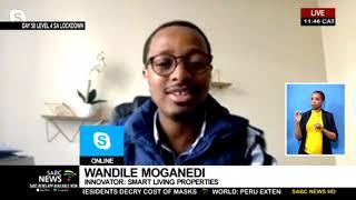 COVID-19 I Wandile Moganedi on public sanitising of booths at malls