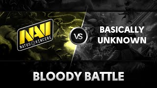 Bloody battle by Na'Vi vs Basically Unknown @Starseries XI