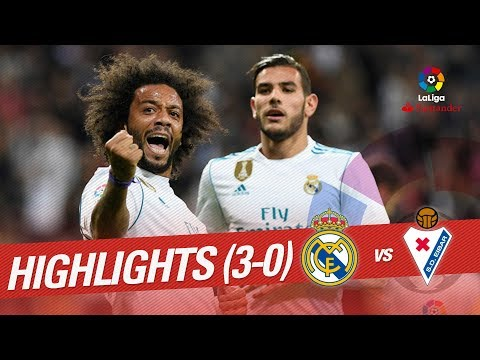 Resumen de Real Madrid vs SD Eibar (3-0)