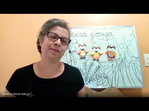 Aprendendo a fazer coruja de papel - Profª Elaine