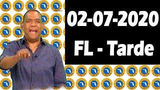 Resultados y Comentarios La Florida Tarde (Loteria Americana) 02-07-2020 (CON JOSEPH TAVAREZ)