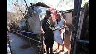 Hoy continúa entrega de alimentos estatales a familias de escasos recursos