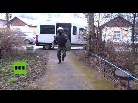 Rusia: Detienen presuntos terroristas en San Petesburgo
