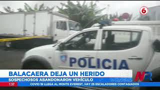 Ocupantes de dos vehículos se enfrentan a balazos en El Guarco