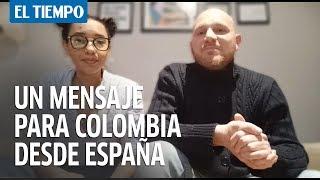 Colombiana en España pide no cometer los mismos errores | Noticias desde casa
