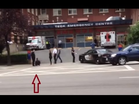 Vancouver, Canada Police take down at ER ! NEWS