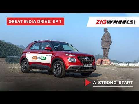 Great India Drive ft. Hyundai Venue Ep. 1: A Strong Start! (Partnered Content)