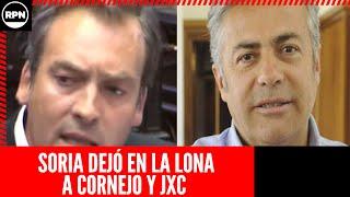Martín Soria despedazó en su jeta a Alfredo Cornejo por hablar de ajuste a los jubilados