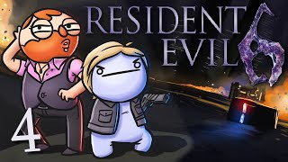 Resident Evil 6 /w Cry! [Part 4] - Burn up the night
