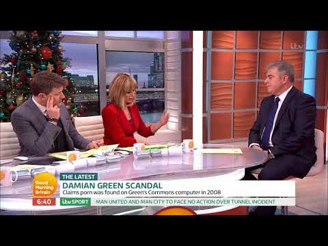 connectYoutube - Immigration Minister Comments on Damian Green's Sacking | Good Morning Britain