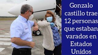 Gonzalo Castillo trae desde Estados Unidos a 12 personas que se lo habían pedido