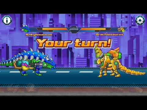 dino robot fighting games